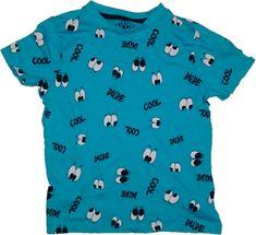 Disney Tričko sv. modré F&F.