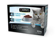 Carnis kapsičky pro kočky 12x100 g
