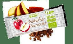 Natural Bars  Bio Tyčinka Naturka Staročeská - jablka a skořice