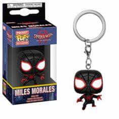 Funko Klíčenka Animated Spider-Man - Miles Morales