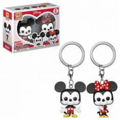 Funko Klíčenka Disney - Mickey & Minnie