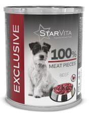 Starvita konzerva exclusive hovězí 820 g