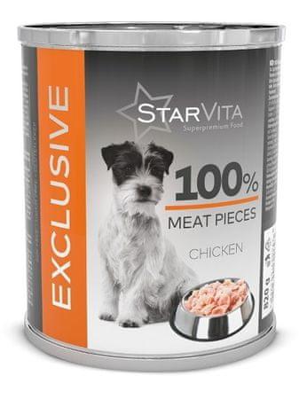 Starvita exkluzív csirkehús konzerv 820 g
