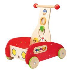 Hape Verdák lábbal hajtós autó, piros
