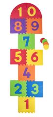Plastica Penové podlahové puzzle Skákací panák