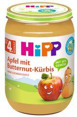 HiPP BIO Jablko s máslovou dýní od uk.4. měsíce, 6 x 190 g