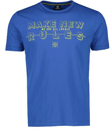 Lerros moška majica 2033025, L, modra
