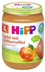 HiPP BIO Jablko s batáty od uk. 4. měsíce, 6 x 190 g