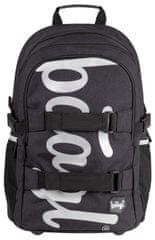 BAAGL školski ruksak skate Black