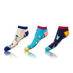 Bellinda nízké barevné ponožky CRAZY IN-SHOE SOCKS 3 ks