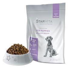 Starvita nagy termetű kölyökkutyáknak 2,5 kg
