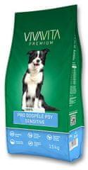 Vivavita pro dospělé psy sensitive 15 kg