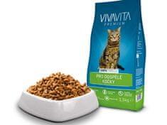 Vivavita briketi za odrasle mačke, 1,5 kg