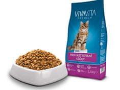Vivavita Macska száraztáp házi macskák számára, 1,5 kg