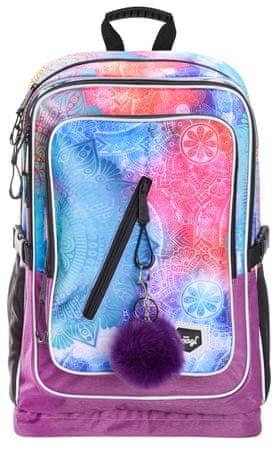BAAGL Cubic Mandala školska torba