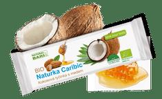 Natural Bars Bio Tyčinka Naturka Caribic - kokosová