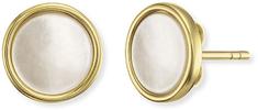 Engelsrufer Aranyozott ezüst fülbevalók gyöngyházgal ERE-PE-STG ezüst 925/1000