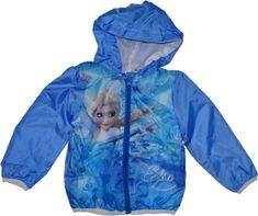 Disney Šustáková slabá bunda Frozen modrá.