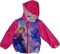 Disney Šustáková slabá bunda Frozen růžová.