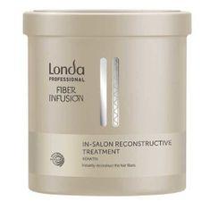Londa Obnovitvena maska s keratinom za poškodovane lase Fiber Infusion (Reconstructive Mask) 750 ml