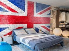 Murando DeLuxe Tapeta Britská vlajka Rozměry (š x v) a Typ: 200x140 cm - vliesové