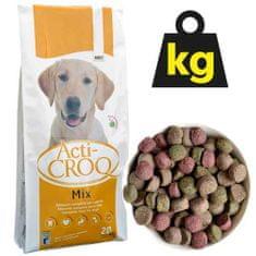 ACTI CROQ MIX 24/11 20kg plnohodnotné farebné krmivo pre dospelých psov všetkých plemien