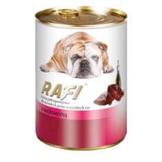 RAFI ADULT DOG 400g konzerva paté s hovězím masem