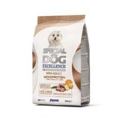 Monge SPECIAL DOG EXCELLENCE MINI ADULT MONOPROTEIN jahňa 800g 26/13 superprémium