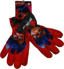 Miraculous Ladybug Zimní rukavice kouzelná beruška.