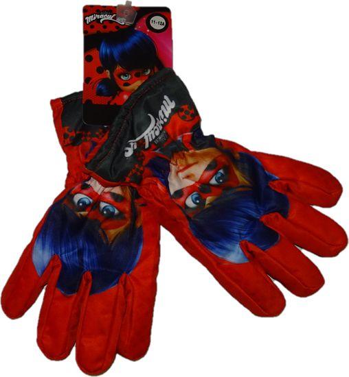 Miraculous Ladybug Zimní rukavice kouzelná beruška., 11-12 let