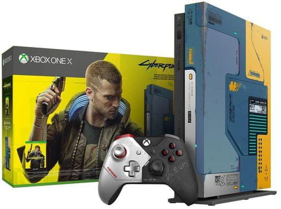 Microsoft Xbox One X 1TB, Cyberpunk 2077 Limited Edition (FMP-00253)