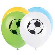 Latexové balóniky - futbal - 5 ks - 30 cm