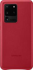 Samsung maska za Samsung Galaxy S20 Ultra, kožna, crvena (EF-VG988LRE)