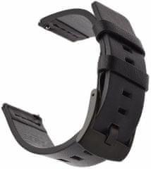 Tactical 307 Kožený remienok pre Huawei Watch GT/ Honor Watch GS Pro 2447333, čierny
