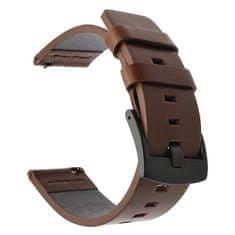 Tactical 308 Kožený remienok pre Huawei Watch GT/ Honor Watch GS Pro 2447361, hnedý