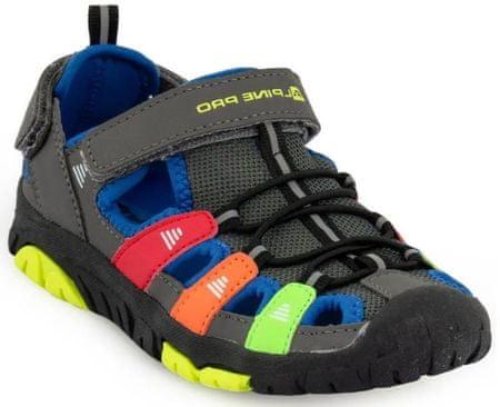 ALPINE PRO sandale za dječake ERZIO KBTR240770, 28, šarene