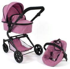 Bayer Chic Lia voziček z avtosedežem za lutke
