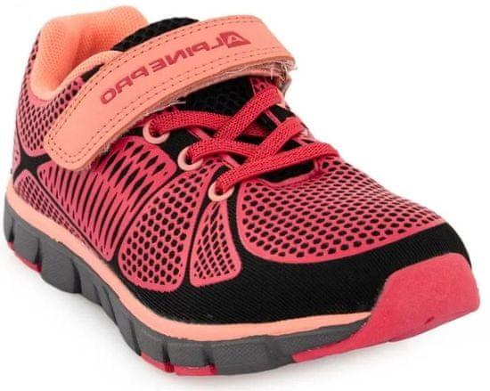 ALPINE PRO dievčenská športová obuv KBTR241324 28 ružová