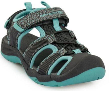 ALPINE PRO JONO KBTR238770G lány cipő, 33, fekete