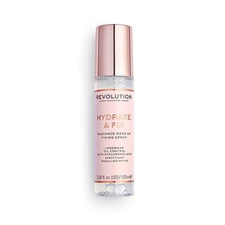 Makeup Revolution Revolution, Hydrate & Fix, fixační sprej na makeup