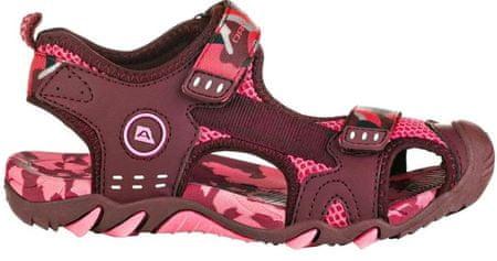 ALPINE PRO obuća za djevojčice DRUSSILO KBTR222419, 28, vinska