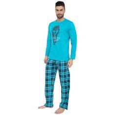 Gino Pánske pyžamo modré (79055)