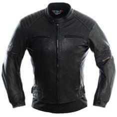Cappa Racing Pánska kožená bunda moto DALLAS - čierna