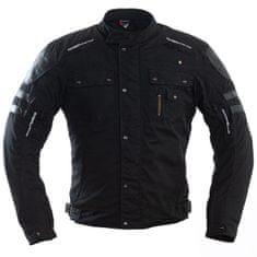Cappa Racing Bunda moto pánska COTTON WAX textilné čierna