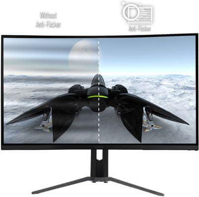 herní monitor MSI Optix MAG322CR (Optix MAG322CR) šetří oči technologie flicker free low blue light