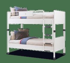Čilek Studentská patrová postel WHITE 90x200 cm