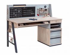 Čilek Studentský psací stůl TRIO velký s nástavcem