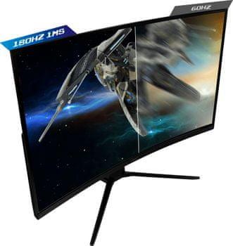 herní monitor MSI Optix MAG322CR (Optix MAG322CR) odstranění lagů široká úhlopříčka 4K