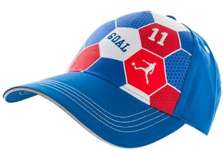 Maximo fantovska kapa s šiltom, modra, 51