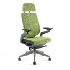 Office Pro KARME MESH - Kancelářská židle potah mesh s podhlavníkem